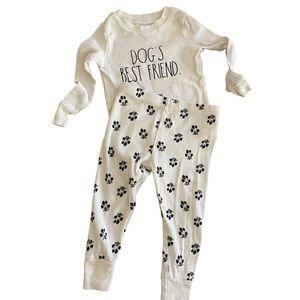 ✨HP💕 Rae Dunn Dogs Best Friend Cotton Pajama Set
